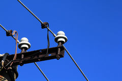 Линии электропередач Стоковое фото RF