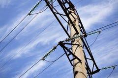 Линии электропередач Стоковые Фото