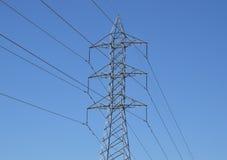 Линии электропередач Стоковое Фото