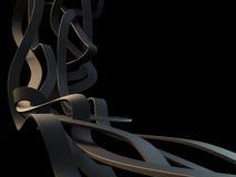 линии 3d Стоковое Фото