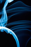 Линии Abstarct голубые Стоковая Фотография
