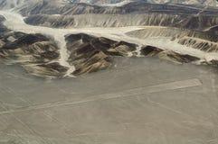 Линии Nasca, Перу Стоковое Фото