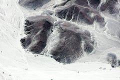 Линии Nazca от воздушных судн Стоковое Изображение