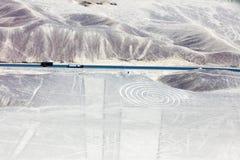 Линии Nazca от воздушных судн Стоковые Фотографии RF