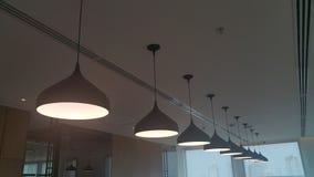 Линия лампы Стоковое Изображение RF