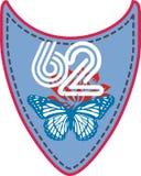 линия бабочки Стоковая Фотография RF