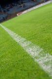линия белизна травы Стоковое фото RF