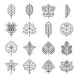 Линия битника геометрическая тонкая выходит для логотипов и бесплатная иллюстрация