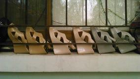 Линия ботинок Стоковые Фотографии RF