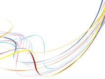 линия волна Стоковые Изображения RF