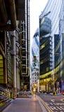 линия города небо Стоковая Фотография RF