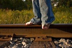 линия гулять Стоковое Изображение RF