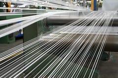 линия делая ленту полипропилена стоковая фотография rf