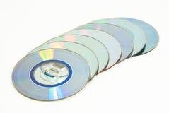 линия дисков стоковое изображение