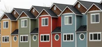 линия домов Стоковое фото RF