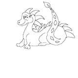 линия дракона искусства Стоковое фото RF
