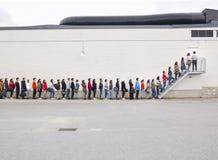 линия ждать Стоковые Изображения RF
