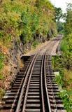 линия железнодорожный Таиланд западный стоковое изображение rf