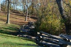 Линия загородки стоковое фото