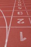 линия законцовки runing след Стоковая Фотография RF