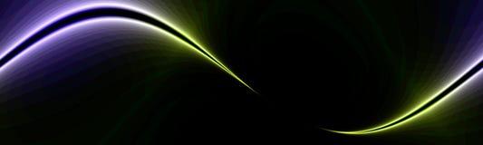 линия знамени искусства Стоковое Фото