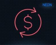 Линия значок валютной биржи изолированная монетками белизна перехода стогов римессы дег иллюстрация штока