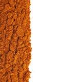 Линия изолированного красного перца cayen Стоковое фото RF