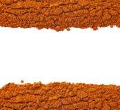 Линия изолированного красного перца cayen Стоковые Изображения