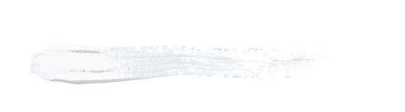Линия изолированный ход краски Стоковое Изображение