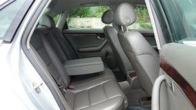 Линия интерьер s автомобиля - год 2002, полное оборудование варианта, фотосессия, кожаный интерьер Стоковое Изображение