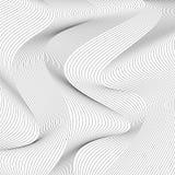 линия картина волнистая Предпосылка вектора Стоковое Фото