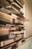 Линия картина деревянной предпосылки Стоковые Фотографии RF