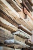 Линия картина деревянной предпосылки Стоковые Фото