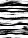 Линия картина чернил безшовная Абстрактная печать с ходами щетки Mo Стоковое фото RF