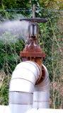 линия клапан трубы Стоковые Изображения RF