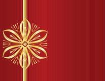 линия красный цвет золота конструкции смычка ba Стоковые Изображения
