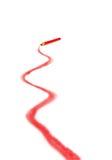 линия красный цвет стоковое фото