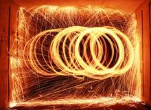 Линия круг Стоковая Фотография