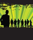 линия люди Стоковая Фотография RF