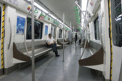 Линия 4 метро метро Чэнду Стоковые Изображения RF