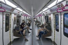 Линия 3 метро метро Чэнду Стоковые Изображения