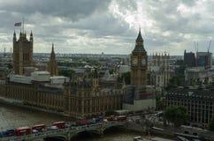Линия неба Лондона bigben Стоковая Фотография