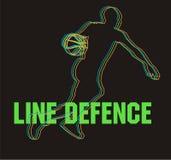 линия обороны Стоковое Изображение