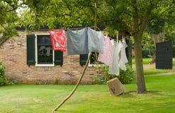 линия одежд традиционная Стоковое Фото