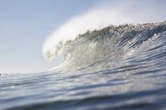 линия одиночная поднимающая вверх волна гребеня Стоковое Изображение RF