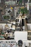 линия отделки печатание оборудования стоковые изображения rf