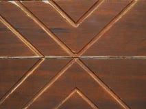 Линия паза картины алфавита x деревянная Стоковое Изображение RF