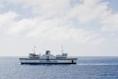 Линия паром канала Gozo, Мальта Стоковая Фотография RF