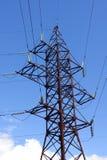 линия передача башни Стоковая Фотография RF