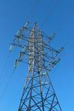 Линия передачи энергии Стоковые Фотографии RF